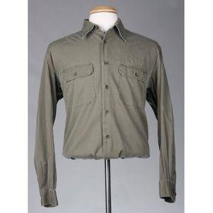 Vintage Banana Republic Men's Chinos Khaki Shirt